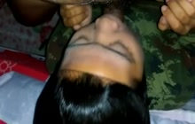 Amateur Thai hoe giving head