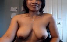Filipina MILF with big boobs solo