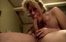 Sucking and riding big cock