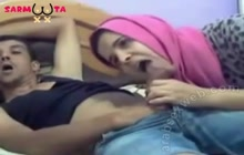 Awesome Arab blowjob on webcam