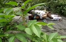 Indian lovers fucking outdoors